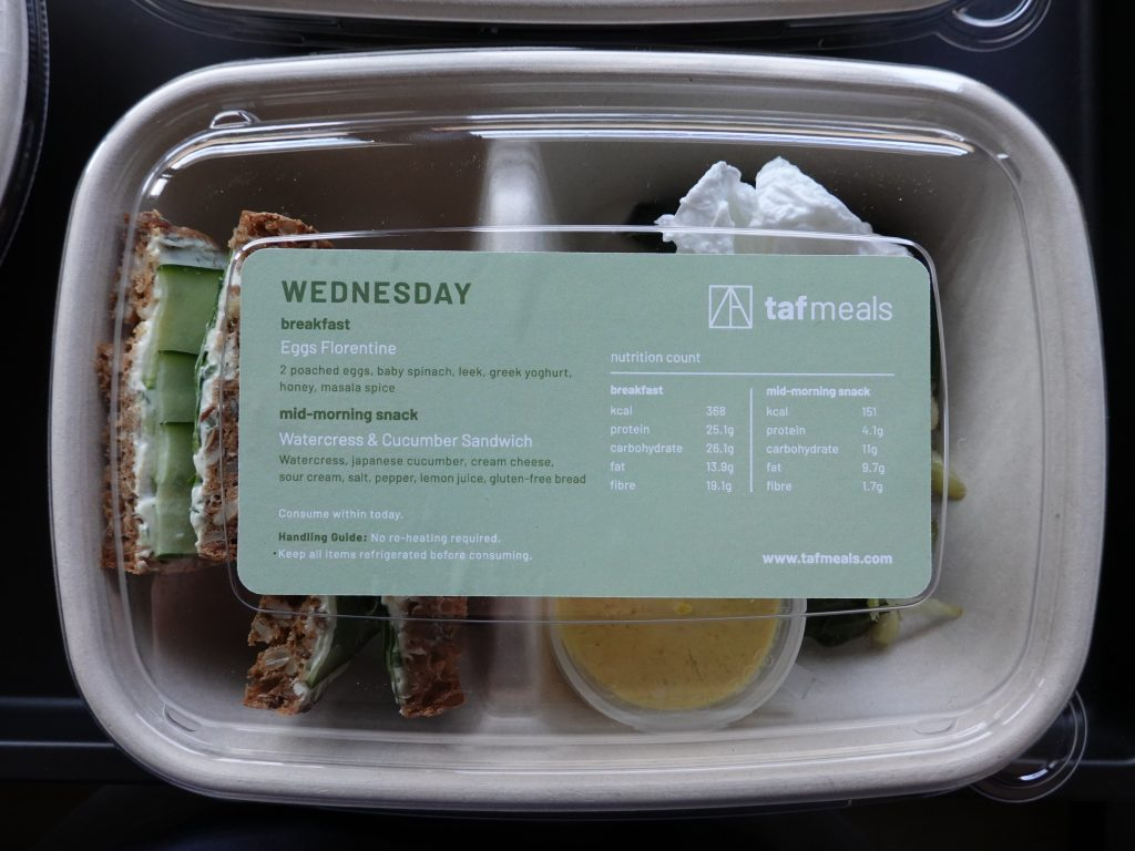 Watercress & Cucumber Sandwich | TAF Meals | Food For Thought