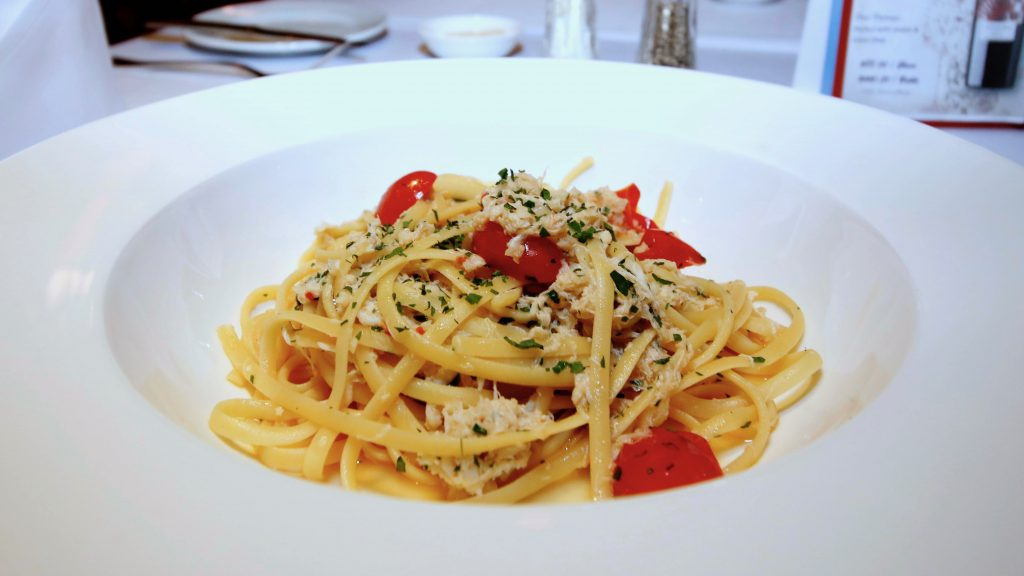 White Crab Linguini | Jimmy's Kitchen | Hong Kong | Food For Thought