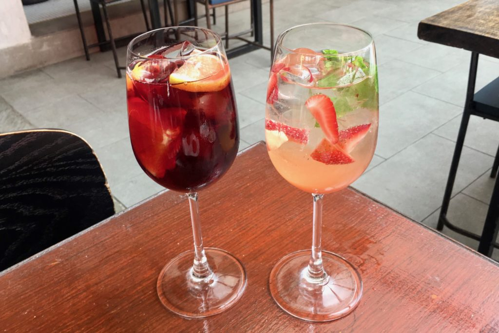 White Sangria | Mercat Barcelona Gastrobar | Food For Thought
