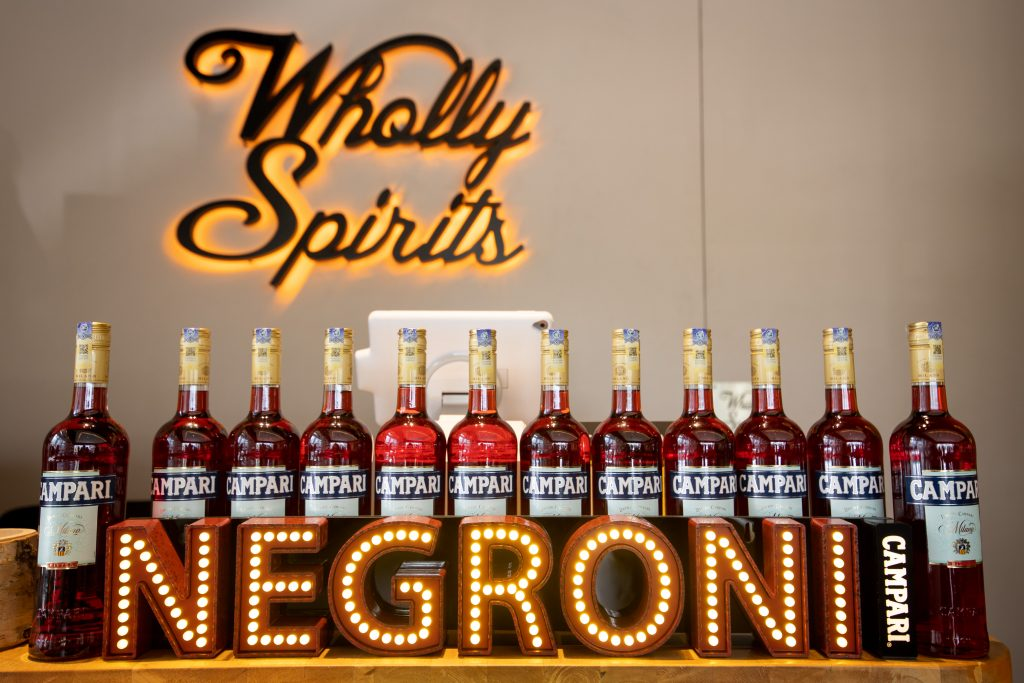 Wholly Spirits | Negroni Week 2020 | Food For Thought