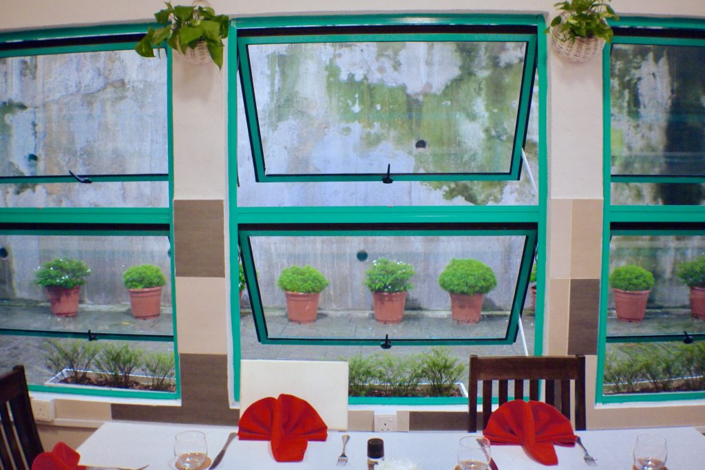 Window | Chez Gaston | Food For Thought