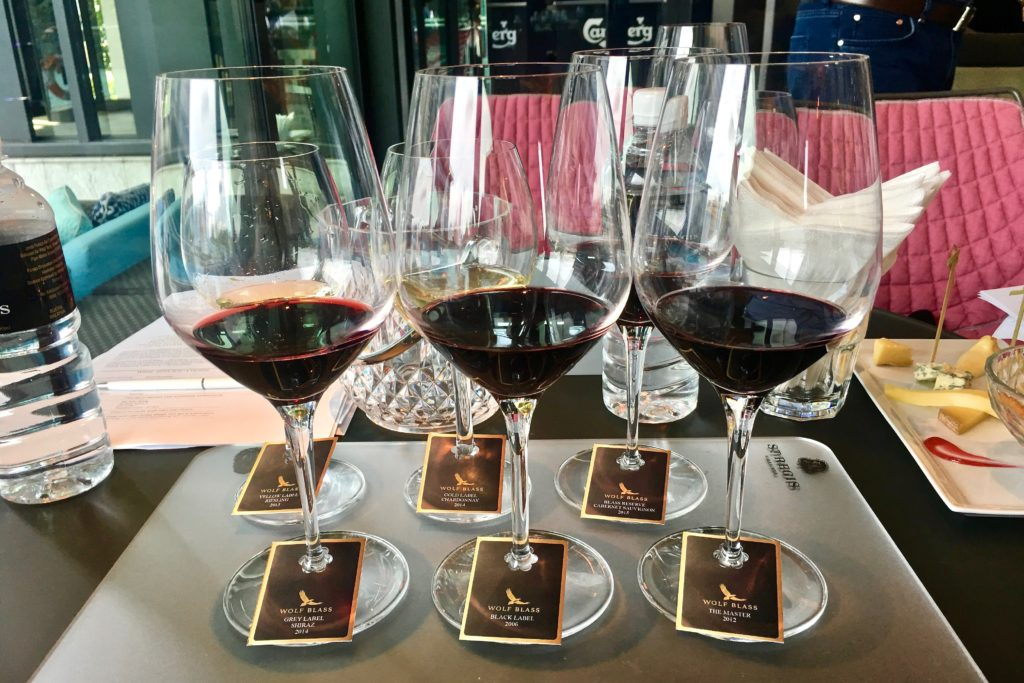 Wolf Blass Wine Tasting | Food For Thought