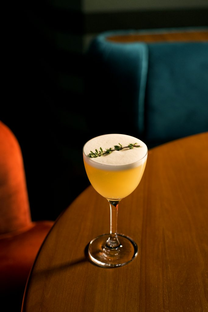 Yuzu Whiskey Sour | Jigger & Pony | Food For Thought